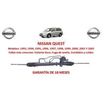 Caja Direccion Hidraulica Cremallera P/ Bomba Nissan Quest