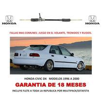 Caja Direccion Mecanica Cremallera Honda Civic 96-00 Lbf