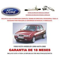 Sistema Completo Direccion Hidraulica Ford Fiesta 98-02 Omm