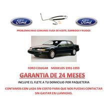 Manguera Direccion Hidraulica Nueva Ford Cougar 91-93 Au1