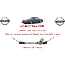 Caja Direccion Hidraulica Cremallera P/ Bomba Nissan 240sx