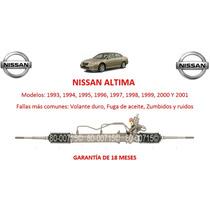 Caja Direccion Hidraulica Cremallera P/bomba Nissan Altima