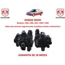 Bomba Licuadora Direccion Hidraulica Dodge Neon 1999