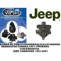 Bomba De Direccion/licuadora Jeep Cherokee 91-01