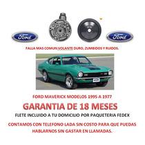 Bomba Licuadora Y Polea Direccion Hidraulica Ford Maverick