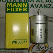 Filtro De Gasolina Wk830/7 Passat,audi,t4,eurovan,jetta,golf