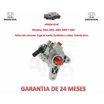 Bomba Licuadora Direccion Hidraulica P/caja Honda Civic 2002
