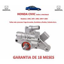 Bomba Licuadora Direccion Hidraulica P/caja Honda Civic