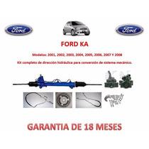 Kit Direccion Hidráulico Completo Original Ford Ka 2001,2002