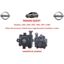 Bomba Licuadora Direccion Hidraulica Nissan Quest 1998