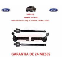 Bieletas Y Terminales P/caja Dirección Ford F150, F250 11-12