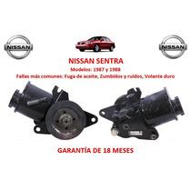 Bomba Direccion Hidraulica P/cremallera Nissan Sentra 1988