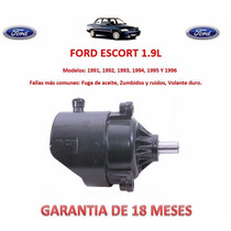 Bomba Licuadora Direccion Hidraulica Ford Escort 1995,1996