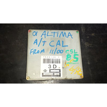 Ecm Ecu Pcm Computadora 01 Altima Ja56r07 E18 5ze13d 3d