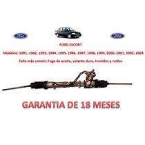 Caja Direccion Hidraulica Cremallera P/ Bomba Ford Escort