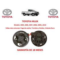 Bomba Licuadora Direccion Hidraulica Toyota Hilux 2005