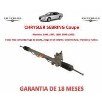Caja Direccion Hidraulica Cremallera Chrysler Sebring Vmj