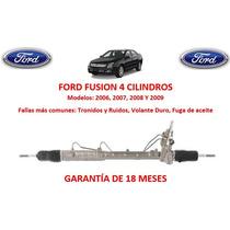 Caja Direccion Hidraulica Cremallera Ford Fusion 4cyl 2006