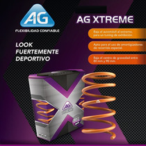 Resortes Ag Xtreme Para Volkswagen Golf A4 1999 A 2006