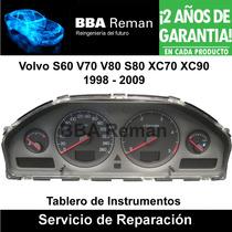 Volvo S60 S80 V60 V70 V80 Xc70 Xc90 Instrumentos Reparacion