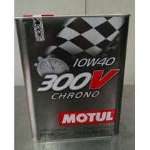 Motul Aceite Motor Sintetico Racing 300v Chrono 10w40 - 2lt