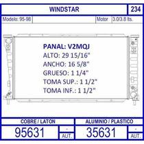 Radiador Ford Windstar Motor 3.8 Lts 1995 1996 1997 1998