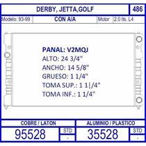 Radiador Jetta 2.0 L 1993 1994 1995 1996 1997 1998 1999/ C.a