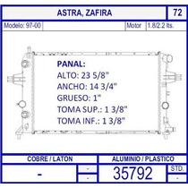 Radiador Chevrolet Astra 1.8 / 2.2 Lts 1997 1998 1999 2000