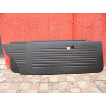Vw Caribe Gt Tapas Puerta Negras Nuevas 2 Pts 74-87 A1 Mk1