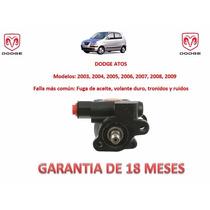 Bomba Licuadora Direccion Hidraulica P/ Caja Dodge Atos Omm
