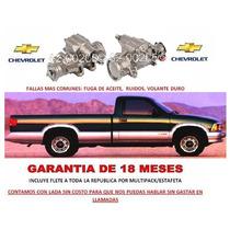 Caja De Direccion Sinfin Hidraulica Chevrolet S10 Pick Up