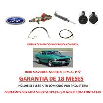 Sistema Completo Direccion Hidraulica Ford Maverick 75-77