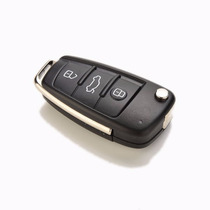Carcasa Control Remoto 3 Botones Audi Llave A3 A4 A6 Tt Q7 S