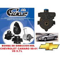 Bomba De Dir. Hidraulica/licuadora Remanu. Camaro 98-01 V8
