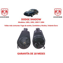 Bomba Licuadora Direccion Hidraulic Dodge Shadow 1991