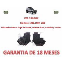 Bomba De Direccion Con Deposito Incluido Jeep Cherokee 1989