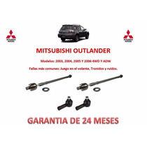 Bieletas Y Terminales De Direccion Mitsubishi Outlander 2005