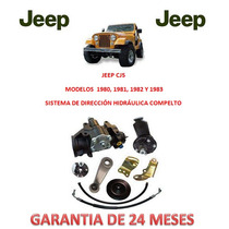 Kit Direccion Hidraulico Completo Original Jeep Cj5 1982