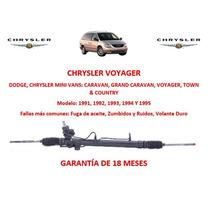 Caja Direccion Hidraulica Cremallera Chrysler Voyager 1995