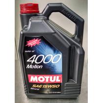 Motul Aceite Motor Mineral 4000 Motion 15w50 - 5 Lt