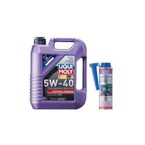 Paq Aceite 5w-40 Synthoil Premium / Limpieza De Inyectores