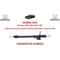 Caja Direccion Hidraulica Cremallera Honda Civic 1988