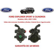 Bomba Licuadora Direccion Hidraulica Ford Explorer Sport 01