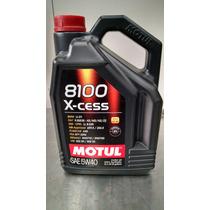 Motul Aceite Motor Sintetico 8100 X-cess Sae 5w40 - 5lt