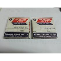 Yamaha Bashee 350 87/06 Anillos Para Piston 0.50 Mm