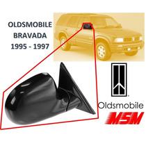 94-97 Oldsmobile Bravada Espejo Lateral Manual Derecho Msm