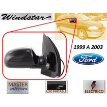 99-03 Ford Windstar Espejo Lateral Electrico Derecho Msm