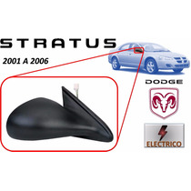 01-06 Dodge Stratus Sedan Espejo Lateral Electrico Derecho
