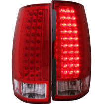 Cv Tahoe /suburban 07-up Led G3 T.l Red/clear