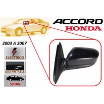 03-07 Honda Accord Sedan Espejo Lateral Electrico Derecho